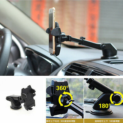 New One Touch 2 Car Windscreen Dashboard Holder Mount For GPS PDA Mobile Phone