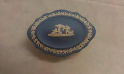 Wedgwood Jasperware Oval Trinket Box