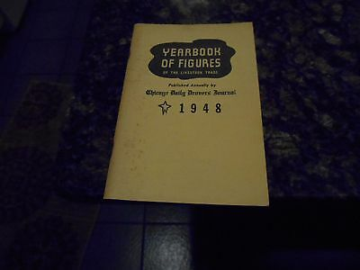 Antique Drovers Journal Yearbook Book Of Figures Of Livestock Trade/1949