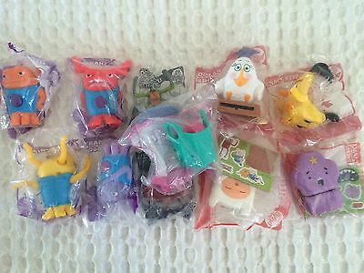 New 11 Toys Sealed McDonald's Happy Meal Toys Various