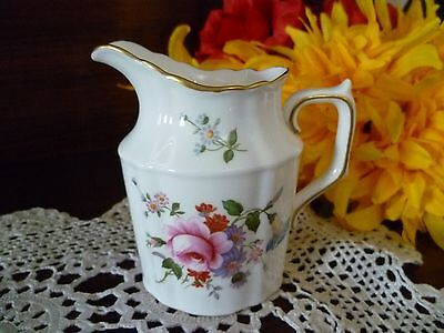 Royal Crown Derby  Derby Posies Small Tall Shaped  Milk Jug Excellent Condition