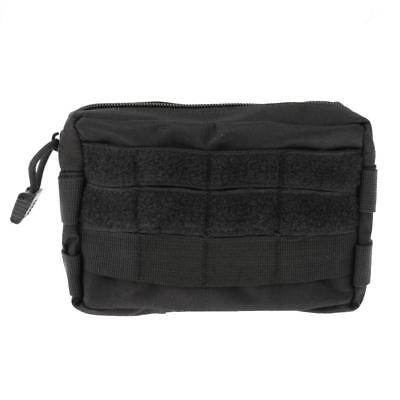 Outdoor Molle Tactical Waist Bag Phone Belt Loop Bum Fanny Pack Black