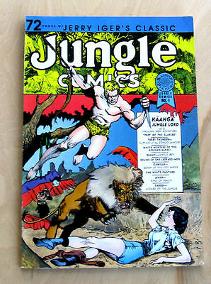 Jerry Iger's Classic Jungle Comics #1 1986 Blackthorne Publishing Kaanga Simba