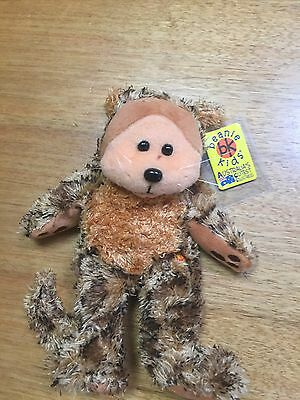 Beanie Kids Retired Pounce The Bear Brand New With Tags