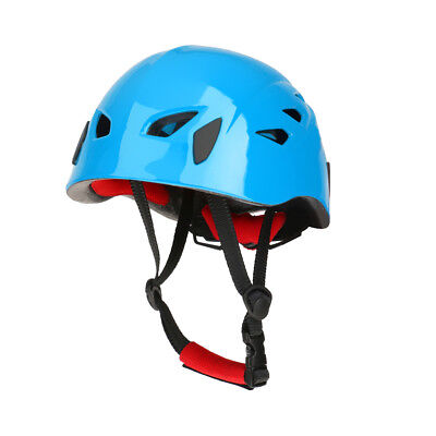 Blue Hard Protection Hat Helmet For Climbing Rigging Kayaking Rappel Rescue