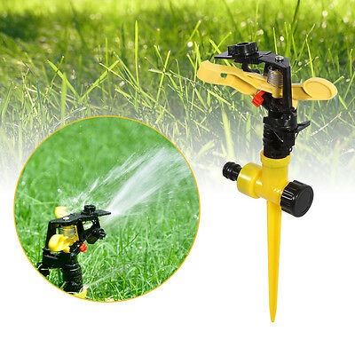360° Rotating Water Sprayer Lawn Grass Sprinkler Head Garden Yard Watering Tool
