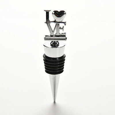 New Creative LOVE Wine Bottle Stoppers Party Wedding Bridal Shower Favors Gift