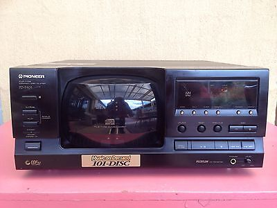Serviced Pioneer PD-F906 101 Disc Juke CD player Stacker Plays Great We Post