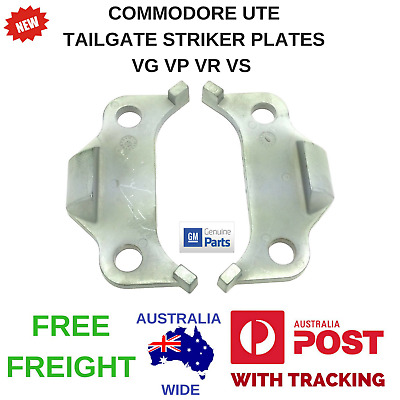Holden Commodore Ute Tailgate Striker Plates Vg Vp Vr Vs Hsv Maloo