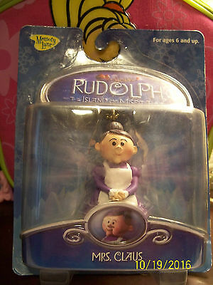 Rudolph And The Island Of Misfit Toys Mrs Claus Christmas Ornament