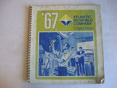 1967 Atlantic Richfield Certified Service Guide Gas Station Manual