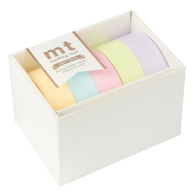 NEW MT Washi Tape Pastel 5pk