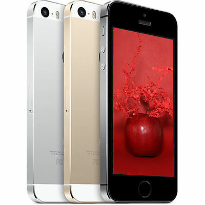 Apple iPhone 5S 4G LTE iOS Smartphone (AT&T OR T-Mobile) 16GB 32GB 64GB (USED)