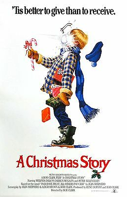 A CHRISTMAS STORY SNOWBALL IN FACE 11x17 Movie Poster collectible