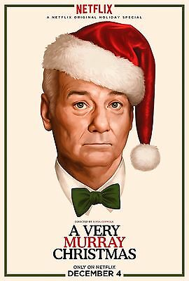 A VERY MURRAY CHRISTMAS 11x17 MOVIE POSTER COLLECTIBLE