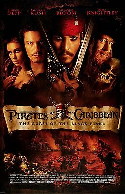 PIRATES OF THE CARRIBEAN DEPP  11X17 Movie Poster collectible NEW CLASSIC