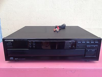 Serviced Kenwood DP-R3090 5 Disc Tray CD player Stacker RCA Output Plays Great