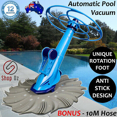 New AUTOMATIC SWIMMING POOL CLEANER VACUUM Above In Ground Auto Cleaners Robotic