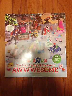 The Great Big Toys R Us ToysRUs Wish Book Toy Catalog Christmas 2016