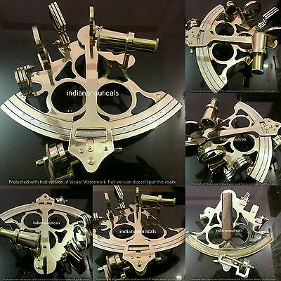 Nautical Vintage Sextant Maritime Astrolabe Ship Instrument Marine Gift Item.