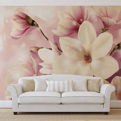 WALL MURAL PHOTO WALLPAPER XXL Pink Lilies (3505WS)