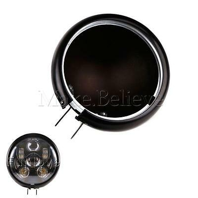 """5 3/4"""" 5.75 Inch Daymaker Led Headlight Housing for Harley Davidson Motorcycles"""