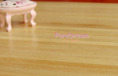 """Dollhouse Miniature Wooden Floor With Varnish Finished  16.9x11"""" 2PCS OA007E"""