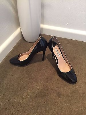 Tony Bianco Women's Black Patent Leather Heels