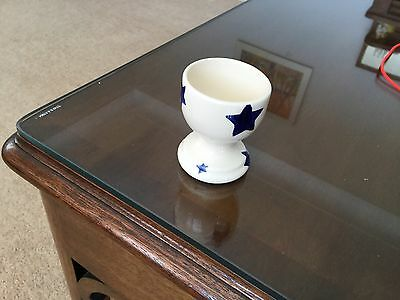 emma bridgewater rare STARRY BLUE STARS Egg Cup EXCELLENT CONDITION