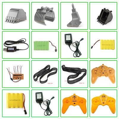 R/C Remote Control Toys Engineer vehicle Parts Excavator Crawler Battery Charger