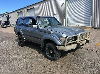 TOYOTA LANDCRUISER 80 SERIES  PARTS NO MOTOR WAS 1HD-T DIESEL AUTO 4x4