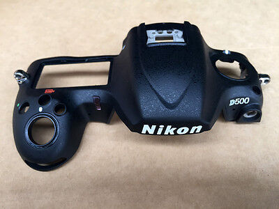 Original Bare Top Cover Case Assembly for Nikon D500 Digital Camera Replacement