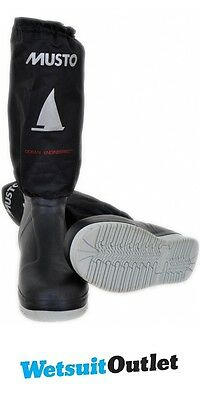 2016 Musto Southern Ocean Tall Sailing Boot Black FS0751