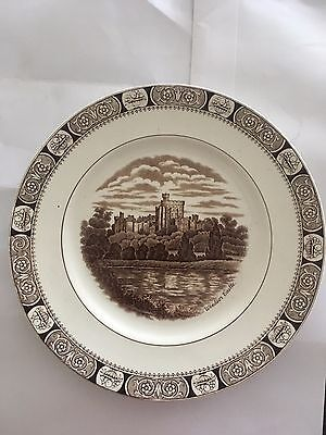North Staffordshire Pottery plate of Windsor Castle