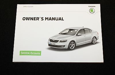 GENUINE SKODA OCTAVIA Mk3 HANDBOOK OWNERS MANUAL 2012-2016 BOOK