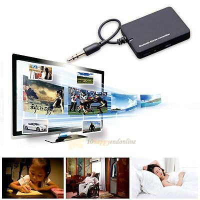 3.5mm Bluetooth Stereo Music Transmitter A2DP Audio Adapter Dongle For TV PC MP4