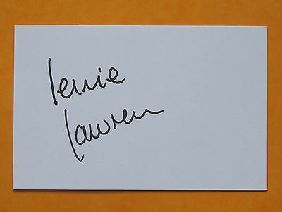 Lennie Lawrence Signed Charlton Athletic Middlesbrough Luton Town Cardiff City