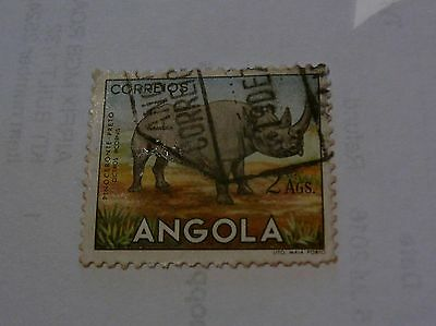 Old Angola Postage Stamp 2Ags