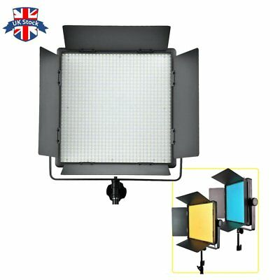UK Godox LED1000W Studio LED Video Continuous Light Lamp Panel with Remote