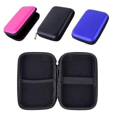 New For 2.5 USB Portable EVA Shockproof Travel Case Pouch External Hard Drive