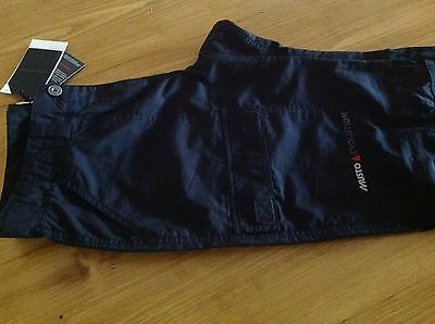 Musto Ladies Fast Dry Trousers, Black, Size 10 Regular, New Complete With Tags.