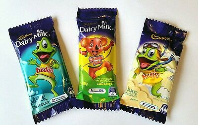 ☆COMBO BUY☆ 12 x CADBURY GIANT CHOCOLATE FREDDO FROG / KOALA 35g - FREE POST -