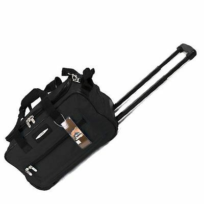 """Jeep 18"""" Lightweight Travel Approved Trolley Bag Suitcase Hand Luggage Trolley"""
