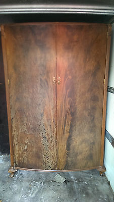 large solid wood wardrobe