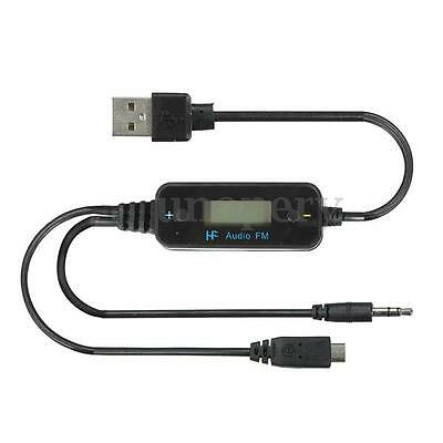 Auto Trasmettitore LED Car FM-185 Transmitter Audios per iPhone Samsung MP3/4