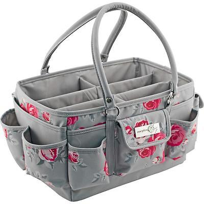 Everything Mary - Deluxe Store & Tote Pink & Grey Rose