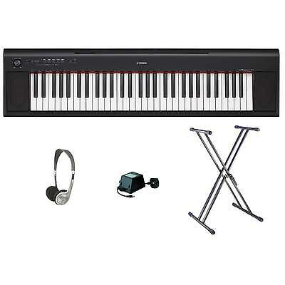 Yamaha NP12 Keyboard | Black | Bundle