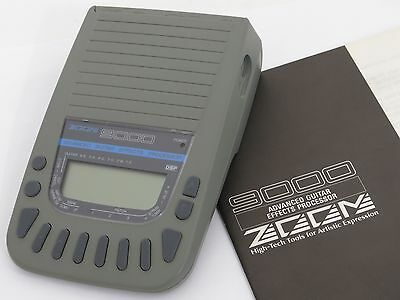 **price Reduced** Zoom 9000 Advanced Guitar Effects Processor + Owner's Manual