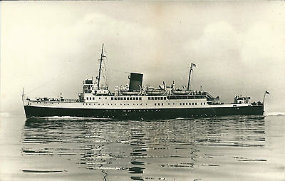 F.R.H.B. SHIP S.S. ST. PATRICK (later THERMOPYLAE) - Photochrom Card - Unposted