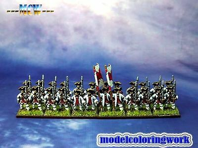 15mm SYW Seven Years War WGS painted French Fusilier Btln Fa18